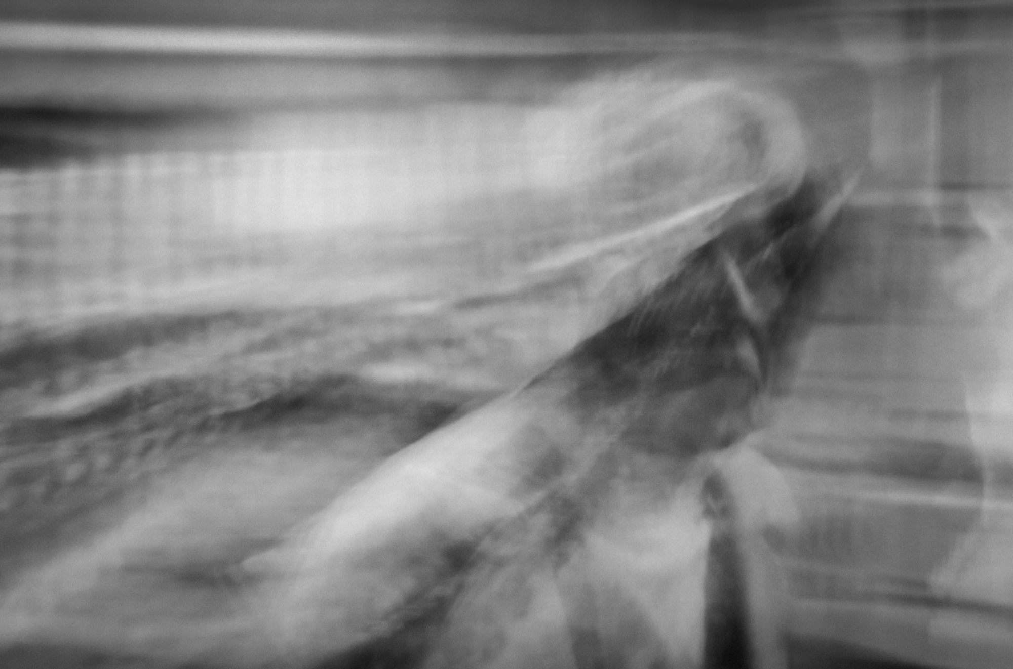 An image of a woman moving.